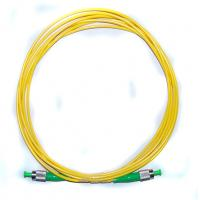 Cheap G657A1/A2 Yellow Singlemode  Optical Fiber patch cord  cables for sale