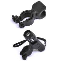 Buy cheap 360 Bike Bicycle Light Flashlight Laser LED Torch Mount Clamp Bracket Holder from wholesalers