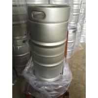 Buy cheap 30L US standard keg slim shape for brewing , Made of SUS 304 food grade material from wholesalers