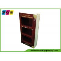 Point Of Purchase Cardboard Product Display Stands With Books Printing Shape M003