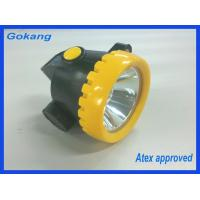 ABS material led mining headlamp, atex certified led miners cap lamp and explosion proof led mining headlight