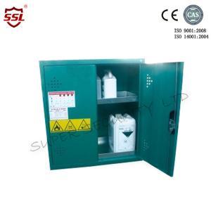 Cheap Short Steel Hazardous Storage Cabinet With 5 Shelves  Green 20 Litres for sale