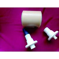 Cheap Dustproof Power Plant Nylon Conveyor Rollers With Shaft / Bearing for sale