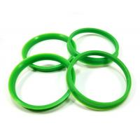 Cheap Green 60.1 To 66.1 Plastic Hub Rings 10 Mm Thickness For Lexus / Toyota for sale