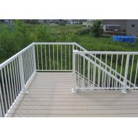 Cheap High Performance Exterior Aluminum Stair Railings Corrosion Resistance For Balcony for sale