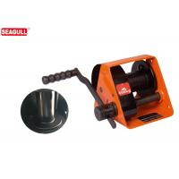 Cheap HWG Type 500kg Hand Lifting Winch With Two Way Ratchet , Worm Gear Hand Winch for sale