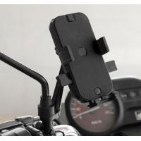 Cheap Automatic Locking Motorcycle Cell Phone Holder With Waterproof Cover Dual Usb Motorcycle Cell Phone Charger for sale