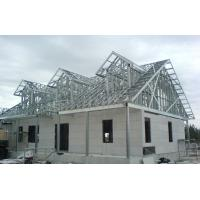 Cheap Luxury Prefab Steel House Construction / Steel Frame Homes CE SGS Listed for sale