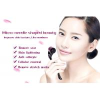 Cheap 540 Purple Roller Black Handle Microneedle Derma Roller Home Care Dodge Wrinkles for sale