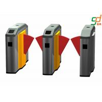 Buy cheap High Security Low Noise Flap Barrier Gate Metro Entrance Turnstile from wholesalers