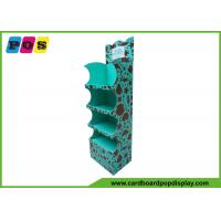 Free Standing FSDU Cardboard Display Stands Unit For Wild Planet Toys FL048
