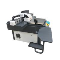 China Hot 6090 automatic multicolor inkjet uv flatbed printer for wood on sale