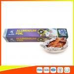 Cheap Disposable Food Grade Aluminum Foil Sheets Oil Resistant , Aluminium Sheet Roll for sale