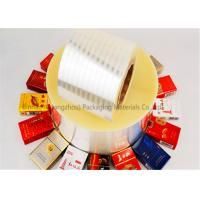 Cheap Double Sided Heat Sealable BOPP Film Thermal Lamination 2800m Length for sale