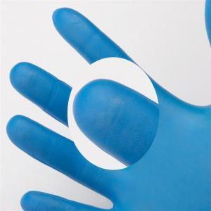 China texfured finger Disposable Nitrile Gloves 3.0g/3.5g/4.0g/4.5g/5.0g Cleanroom Nitrile Work Hand Gloves on sale