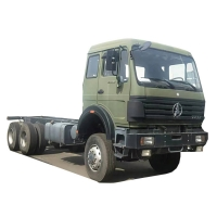 Cheap Beiben All Drive 6 Wheel Off Road Truck Chassis 420HP For Bad Road for sale