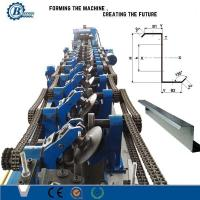 C Z Profile / Metal Steel Purlin Roll Forming Machine Mitsubishi Controller Manufactures