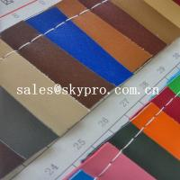 Cheap Customized New Style PVC Synthetic Leather For Sofa Bag With Polyester Backing for sale