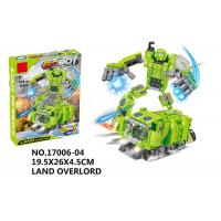 Cheap 151Pcs Smooth Building Blocks Educational Toys Transformers Car Robot Toys for sale