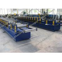 Cheap Galvanized Steel Purlin Roll Forming Machine Size 9300 * 1400 * 1800mm for sale