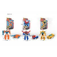 """Cheap 7 """" Mini Plastic Deformation Robot Vehicle Car To Robot Transformer Toy 11 Styles for sale"""