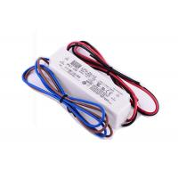 Cheap 20W 12VDC AC-DC Single Output LED Driver Constant Voltage Original MeanWell for sale