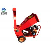 China Gas Powered 15hp Wood Chipper Machine 1-2t/H Capacity Stable Operation on sale