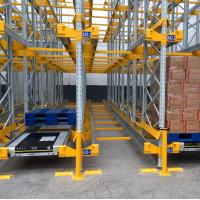 Cheap High Space Saving Steel Radio Shuttle Racking System Warehouse Storage for sale