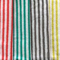 Cheap stripe 100% polyester stripe towel for sale