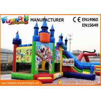 Buy cheap Giant Commercial Bouncy Castles / Sewed And Stitched Inflatable Bouncer For Kids from wholesalers