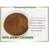 Cheap Buy Sodium lignosulphonate Wood pulp grade as Water reducing agents for sale