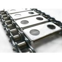 Food Processing Wire Mesh Conveyor Chain , Agricultural Stainless Steel Drive Chain