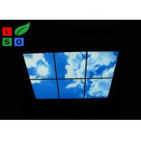 Custom Design LED Shop Display Blue Sky LED Flat Panel Light For Ceiling Decoration