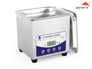 Cheap 35W SUS304 Portable Ultrasonic Cleaner 1.3 Liter For Removing Dirt for sale