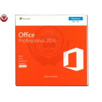 Cheap Office 2016 pro plus 1 DVD + 1 Key Card Retail Version software for sale