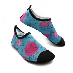 Cheap Soft Ladies Swim Shoes Durable Ladies Aqua Beach Shoes BSCI Certification for sale