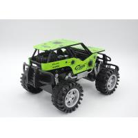 Cheap Metal Shell Boys Rock Crawler Buggy Toy Friction Powered 4 Color 2 Size for sale