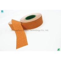 Cheap Cigarette Package Yellow Cork Tipping Paper King Size 36gsm Paper for sale