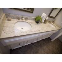 Indian Kashmir White Granite Countertops , Commercial Granite Kitchen ...