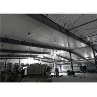 Cheap Construction design large span color coated Philippines light steel structure industrial workshop for sale