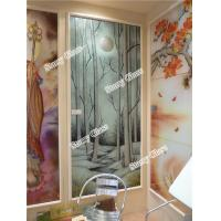 Cheap Decorative Glass Partition for Office and restaurant for sale