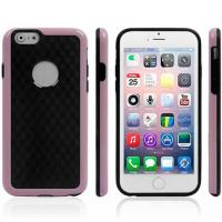 Cheap Honeycomb Wall Pattern Cell Phone Case For Iphone 6 Soft Covers Dual Colour for sale