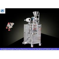 Cheap Small Automatic Tea Bag Packaging Machine 1.1 Kw 380v For Triangle Shaped Tea Bags for sale