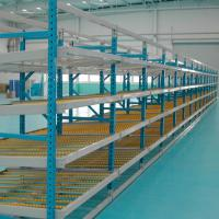 Cheap Steel Industrial Warehouse Roller Racks / Carton Flow Rack Pick Systems for sale