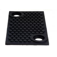 Cheap Vibration Isolation Bearings Solid Rubber Pad applied in Metro for sale