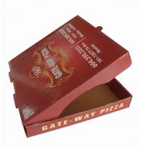 Accept Custom Order Pizza Box