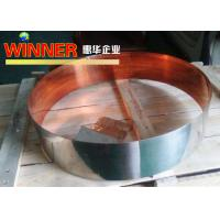 Cheap Nickel Composite Copper Metal Strips , Intermittent Nickel Plated Copper Strip for sale