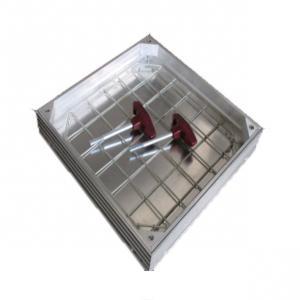Cheap Metal Drain Cover Aluminum Profile Process Double High Grade EPDM Seals for sale