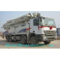 Cheap Energy Saving Concrete Pump Truck Automatic Control 48m Boom ISO CCC for sale