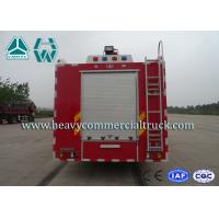 Carbon Steel A Type Foam Fire Fighter Trucks Reliable Structure High Power